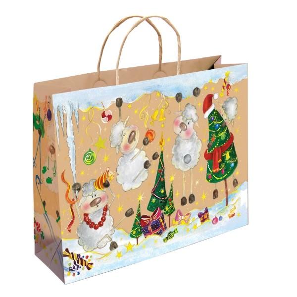 Новогодний подарочный пакет Щедрые барашки