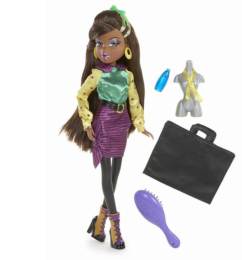 Кукла Bratz Саша. Хочу стать модным дизайнером