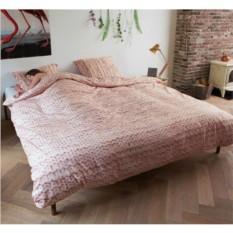 Постельное белье Косичка розовое