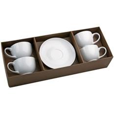 Чайный набор (4 чашки с блюдцами)