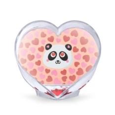 Сувенирное сердце Влюбленная панда