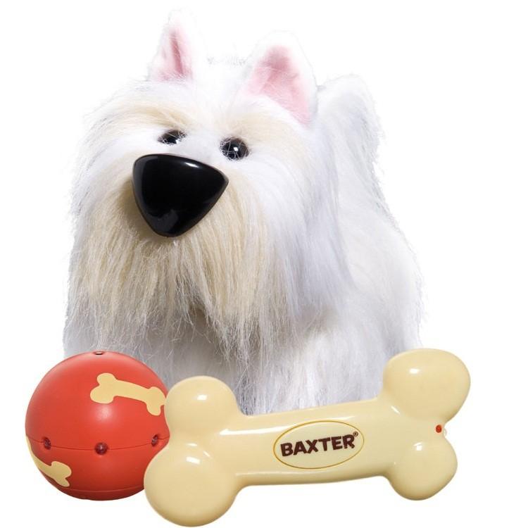 Интерактивная игрушка собака «Бакстер»