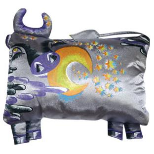 Дизайнерская подушка «Корова»