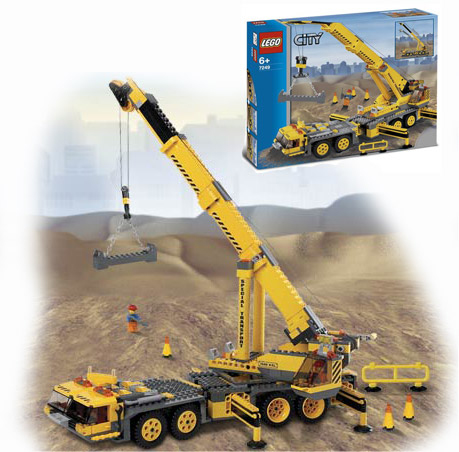 Набор Lego City Передвижной кран