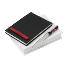 Набор Cacharel: дизайнерский блокнот, шариковая ручка