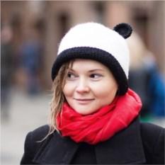 Шляпа с ушками Панда