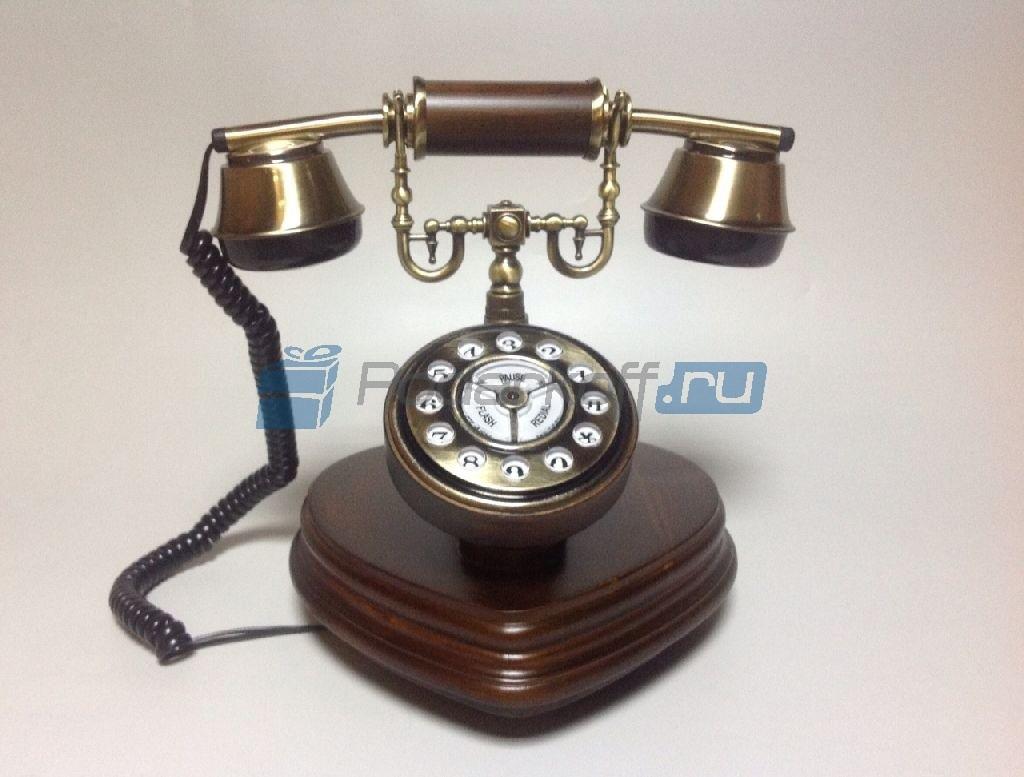 Кнопочный ретро-телефон Декарт