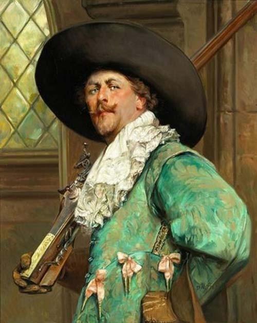 Портрет для оружейника