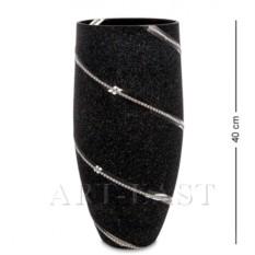 Стеклянная ваза Спираль