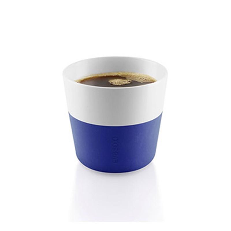 Синие фарфоровые чашки Lungo
