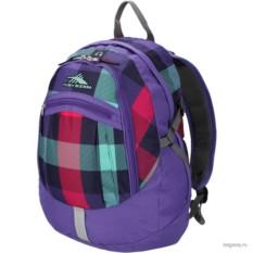 Рюкзак Daypacks от High Sierra (цвет - фиолетовая клетка)