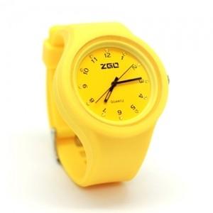 Часы Strass plastic (желтые)