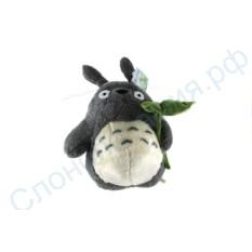 Мягкая игрушка Тоторо с листочком