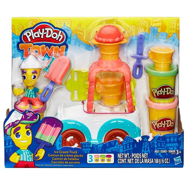 Набор с пластилином Play-Doh Грузовичок с мороженым