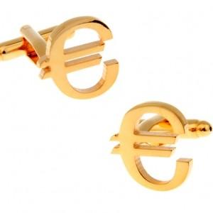 Запонки Евро
