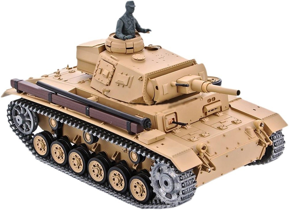 Радиоуправляемый танк Heng Long Tauch Panzer III Ausf.H 3849