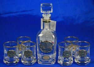 Подарочный набор для ликёра и водки Северная столица, 25х29 см