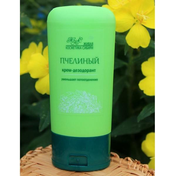 Крем-дезодорант «Пчелиный», Живая косметика Сибири