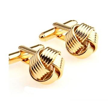 Запонки Golden Knot