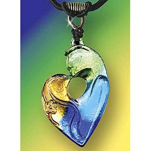 Кулон «Слиянее сердец»