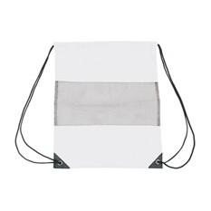 Рюкзак-мешок с сеткой, белый