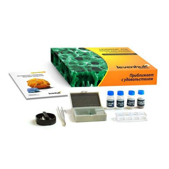 Набор для опытов с микроскопом