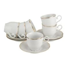 Чайный набор Офелия 662 на 6 персон от Bohemia Porcelan