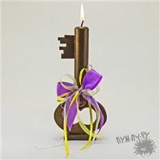 Свадебная свеча Ключ от счастья