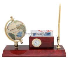 Прибор настольный Конгресс (часы, ручка)