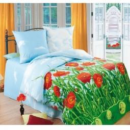 Комплект постельного белья Маковое поле, 2-спальный