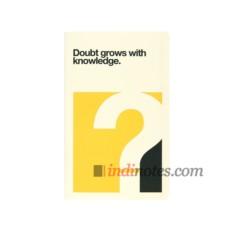 Записная книжка Ogami Quotes Doubt Softcover A5