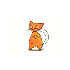 Подсвечник «Рыжий кот»