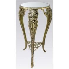 Столик с зеркальной столешницей