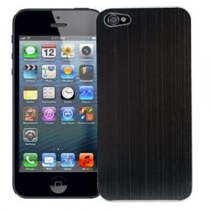 Чехол для iPhone 5 Black, серия Metal Texture
