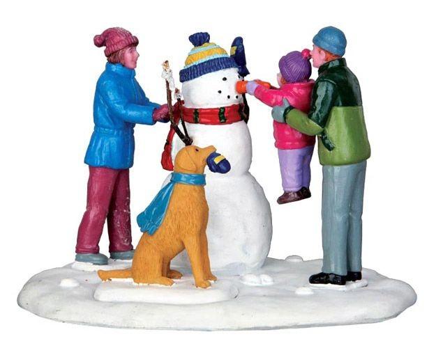 Настольная композиция Первый снеговик