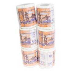Прикольная туалетная бумага 5000 руб