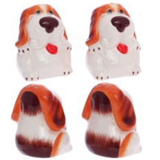 Набор из солонки и перечницы Рыжий пёс