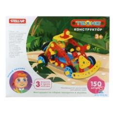 Детский конструктор STELLAR «Техно. Джип», 150 деталей