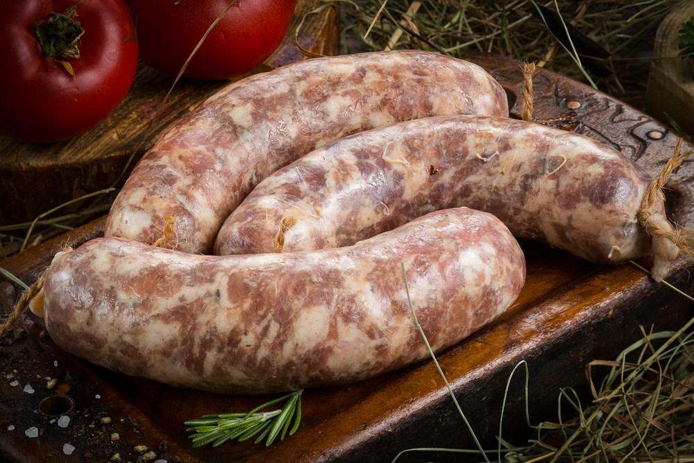 Колбаски для гриля из говядины и свинины