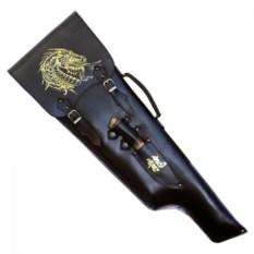 Шашлычный подарочный набор ручной работы Золотой дракон