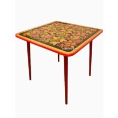 Детский стол с Хохломской росписью Осень