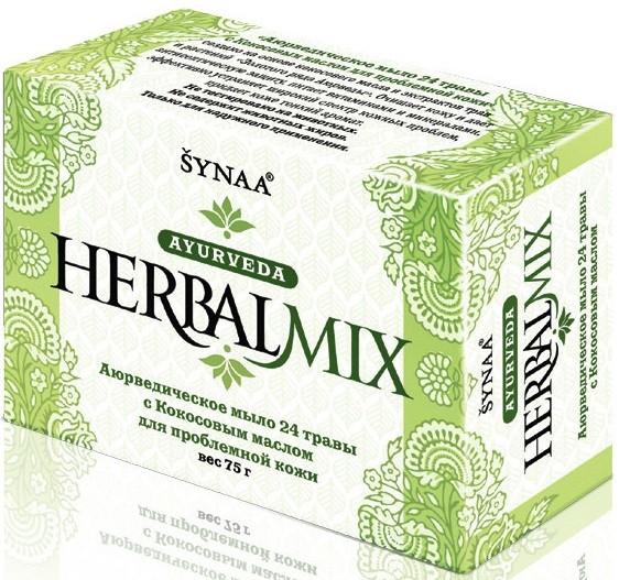 Мыло Herbalmix для проблемной кожи 24 травы