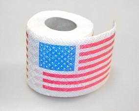 Туалетная бумага «Американский флаг»