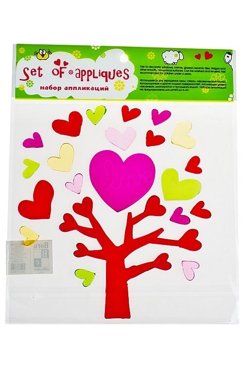 Набор аппликаций Дерево любви