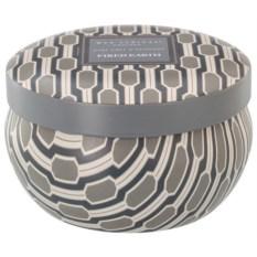 Ароматическая свеча в металле Чай с бергамотом и ветивером