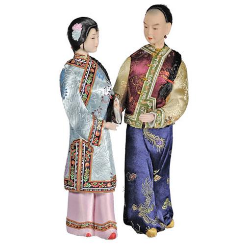 Кукла «Влюблённая пара»