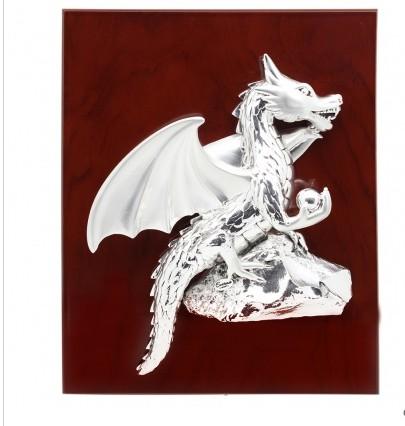 Панно Дракон на скале