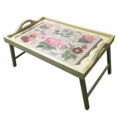 Столик для завтрака в постели с ручками Ласковое лето
