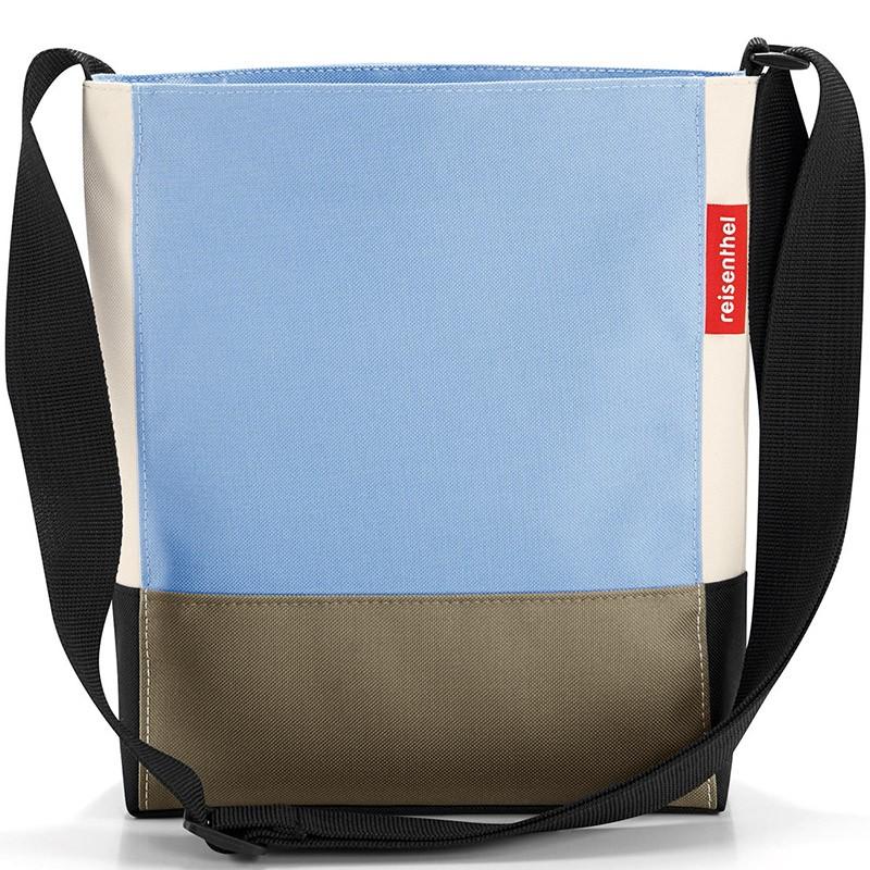 Сумка Shoulderbag S patchwork pastel blue