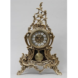 Часы настольные из бронзы Virtus «Луис»